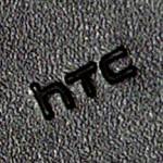 Logo HTC sur la housse