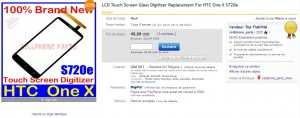 touch screen en vente sur ebay